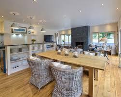 Open Plan Kitchen Design Ideas Small Open Plan Kitchen Living Room Dining Room Design Ideas Igf Usa