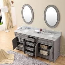 Single Bathroom Vanity Cabinets Bathroom White Double Vanity 54 Vanity Cabinet Single Vanity