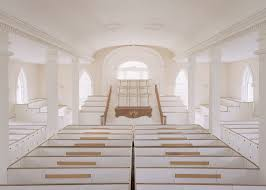 mormon architecture kirtland temple interior first floor view