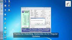 free download of kundli lite software full version how to install kundli pro on windows youtube