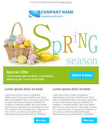 50 free easter email templates for sendblaster