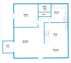 delightful garage apartment plans 2 bedroom 4 basic 1 bedroom