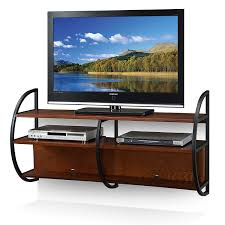Altus Plus Floating Tv Stand Amazon Com Leick Home Floating Wall Mounted Tv Stand Medium Oak
