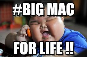 Big Mac Meme - big mac asian fat kid meme on memegen