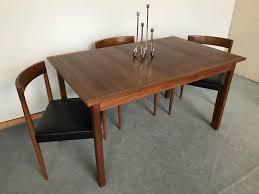 Teak Dining Room Tables Scandinavian Teak Dining Room Furniture Luxury Vintage
