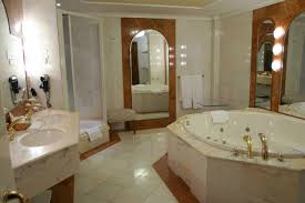 bathroom dark marble bathroom decor with small bat tub ideas