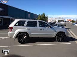 jeep grand cherokee bull bar jeep grand cherokee dub push s109 wheels gloss black u0026 milled