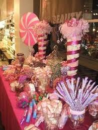 Pink Wedding Candy Buffet by Black And Pink Candy Buffet Candy Table Pinterest