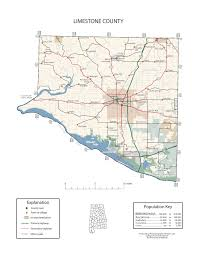 Alabama Maps Maps Of Limestone County