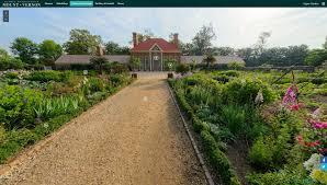 the mount vernon virtual tour george washington s mount vernon panorama of the upper garden