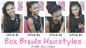 hairstyles for box braids 2015 box braids hairstyles youtube