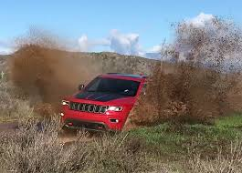 jeep grand cherokee trailhawk off road 2017 jeep grand cherokee trailhawk a take no prisoners suv