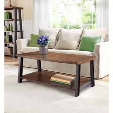 better homes and gardens coffee table better homes and gardens mercer coffee table vintage oak