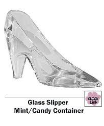 glass slipper favors glass slipper wedding favors