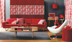 red room decor stylish 18 black and red living room decoration