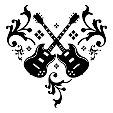 tatto art design music themed tattoos guitar tattoos musical