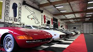 porsche home garage lamborghini countach at a secret garage world u0027s fastest car show