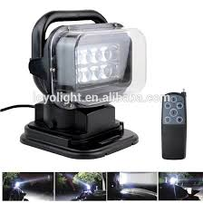 rechargeable magnetic work light 50w led magnetic work light 7 inch remote control led search light