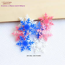 get cheap snowflake ornaments blue aliexpress
