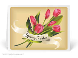 easter greeting cards vintage happy easter greeting card 10518 ministry greetings