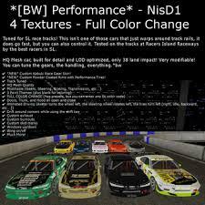 second life marketplace bw performance new 2016 nisd1