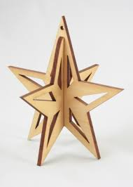 3d Star Ornament Flat Pack Pinterest 3d Star Ornament And 3d