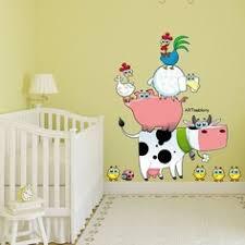 stickers animaux chambre bébé stickers animaux de la ferme cool stickers lapins de ferme with