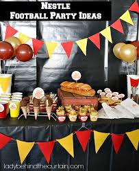 football party ideas nestle football party ideas