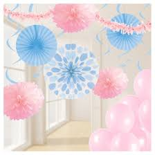 pastel pink and blue decorations kit target