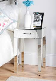 Bed Side Desk Terrific Small Mirrored Desk 136 Small Mirrored Tables Mirror Set