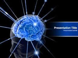 amazon com animated brain powerpoint template brain anatomy ppt