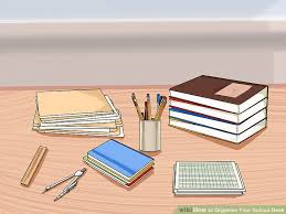 How To Organize Desk How To Organize Your Desk 9 Steps With Pictures