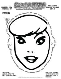 free printable scooby doo daphne mask mama likes