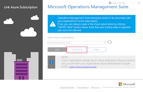 linking operations management suite workspaces to microsoft azure