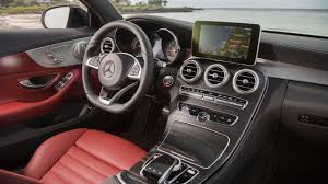 New C Take A Peek Inside The 2018 Mercedes C Class Facelift