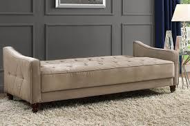 Sofa Sleeper Dhp Furniture Novogratz Vintage Tufted Sofa Sleeper Ii