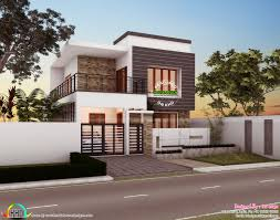 1250 sq ft simple modern style small house kerala home design