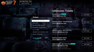 100 uss halloween horror nights tickets horror nights 2017