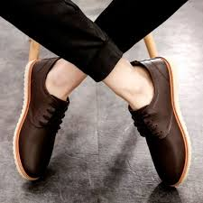 Comfortable Stylish Work Shoes Yozo Men Shoes Casual Fashion Work Shoes Pu Outdoor Sports Shoes