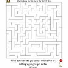 Havefunteaching Com Math Worksheets Dr Seuss The Lorax Maze Teaching