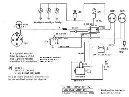 ford jubilee 12 volt light wiring 1 wire alternator ford wiring