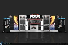 trade show booth rentals in las vegas by the design factory