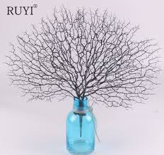 Flower Decorations For Home Online Get Cheap Dried Decorative Branches Aliexpress Com