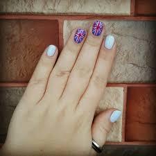 British Flag Nails British Flag Nails Art And Designs Ladylife