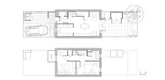 two bed house plan the triangle glenn howells architects