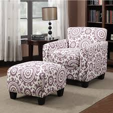 ottoman astonishing popular design purple accent chairs with