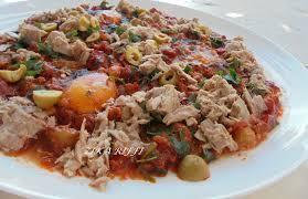 recette de cuisine facile et rapide plat chaud ojja au thon cuisine de zika