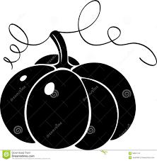 pumpkin no background pumpkin silhouette stock vector image 59661742