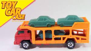 tomica toyota estima tomica toyota car transporter toy car case youtube