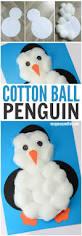 cotton balls penguin craft easy peasy and fun